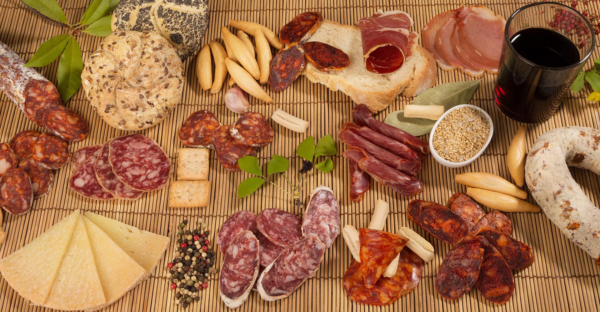 Embutidos, quesos y bacalao de gran calidad